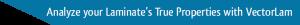 Analyze your Laminate's True Properties with VectorLam
